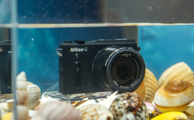 Nikon AW1  - Compact underwater video camera with interchangeable lens