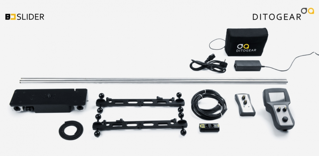 DitoGear BD Slider with accessories