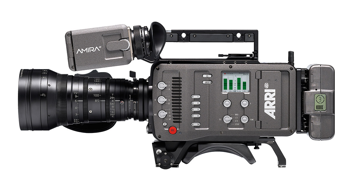IBC 2013 - Arri AMIRA, The new documentary-style camera