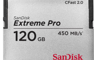 What is Sandisk's new CFast 2.0 memory card?