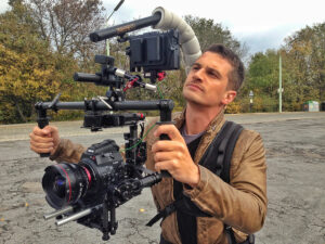 MoVi attached to the Easyrig with 500 Newton