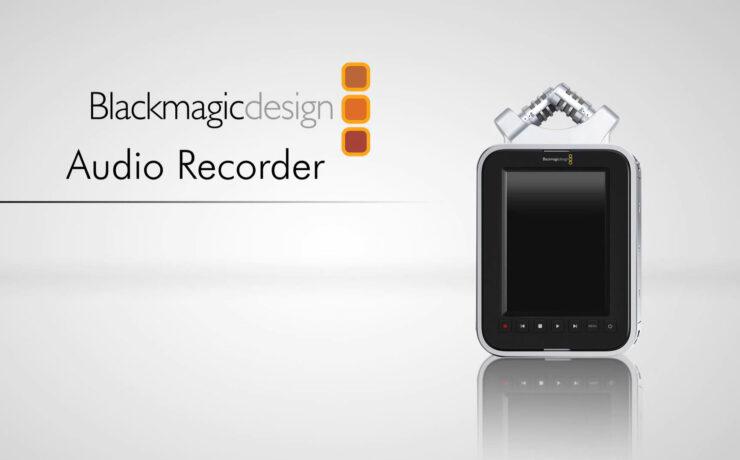 Spoof Video: The Blackmagic Audio Recorder