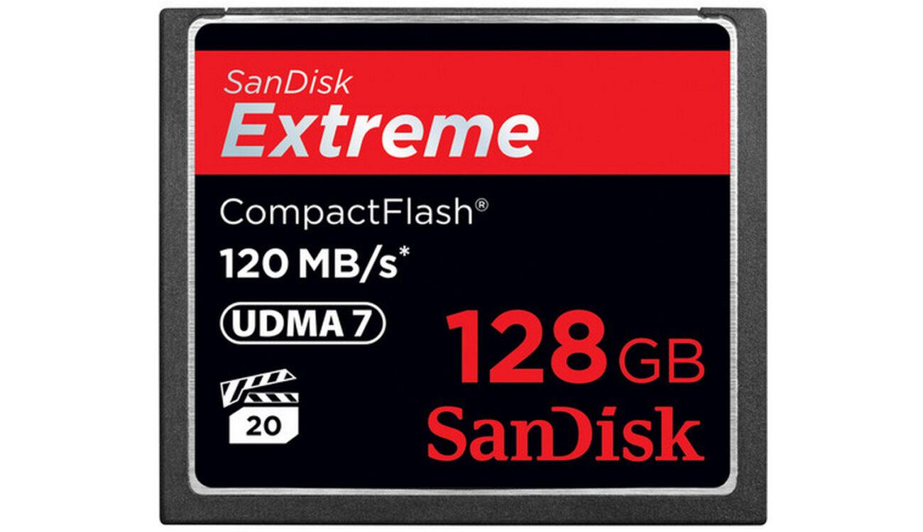 SanDisk Extreme 120MB/s cards