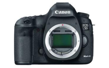Canon 5D mark iii firmware update