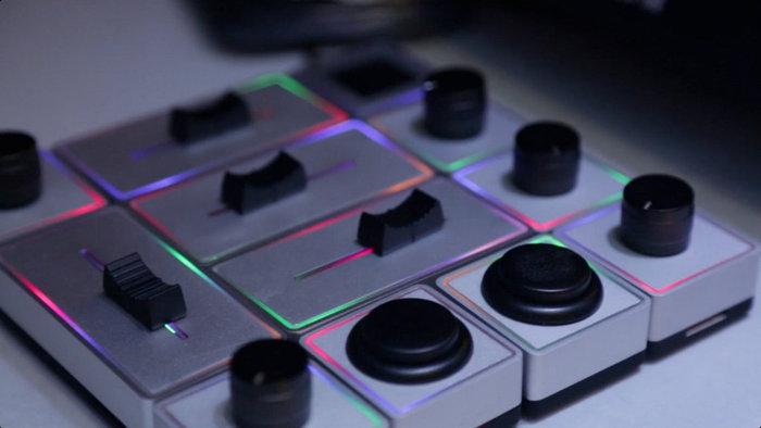 Палитра RGB светодиоды