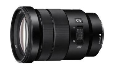 Sony E 18-105mm f/4 OS - servo zoom for large sensor cameras