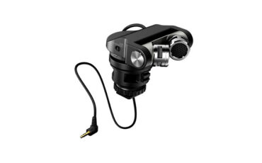 Tascam TM 2X - On board Condenser Microphone for DSLRs