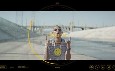 "How did Jon Beattie shoot Pharrell's ""24 Hours of Happy""?"