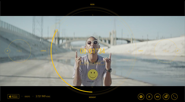 "How did Jon Beattie shoot Pharrell's ""24 Hours of Happy""?"