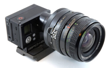Backbone Ribcage - Interchangeable lens system for GoPro 3