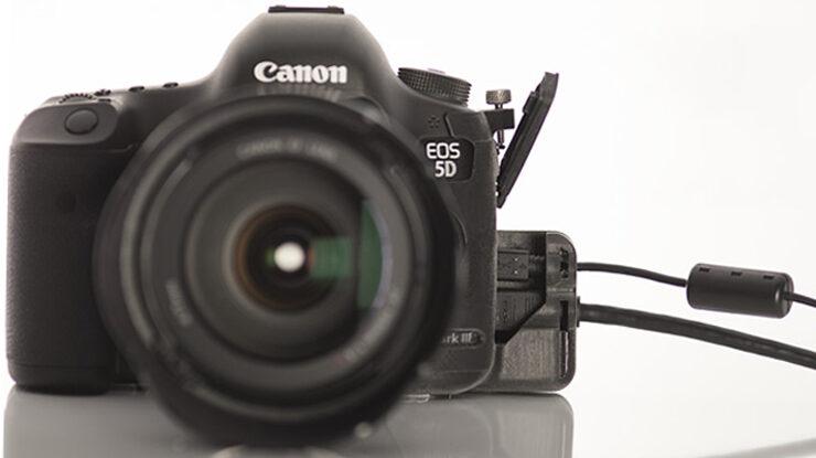 SmallHD port protector for Canon 5D mark iii