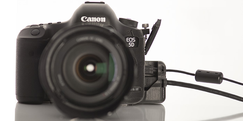 SmallHD port protector for Canon 5D mark iii