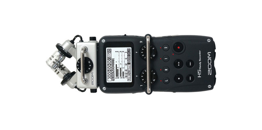 Zoom H5 Audio Recorder released