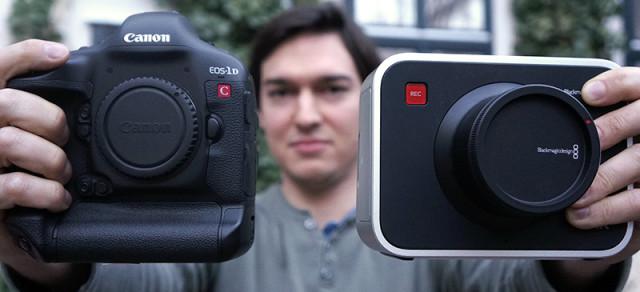 Review Part 1 Blackmagic Production Camera 4k Vs Canon 1dc Cined