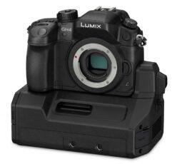 Panasonic GH4 - shoots 4K, 10bit via XLR/SDI unit, mind: blown