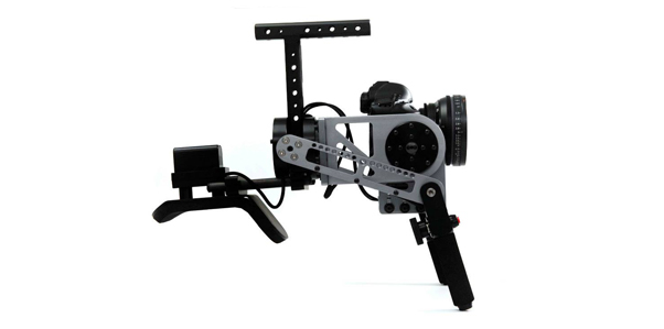 GimbalGunner - Shoulder mounted gimbal stabilizer