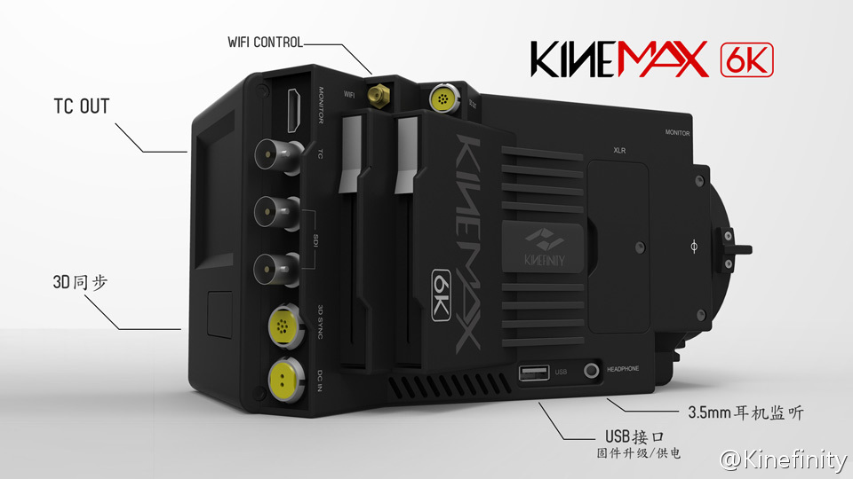 KineMINI 4K & KineMAX 6K cameras are (soon) here