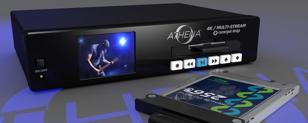 NAB 2014 - Convergent Design Athena 4K/Multi-Stream Player/Recorder Encoder/Decoder