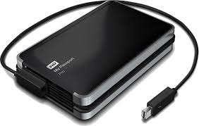 "WD ""My Passport Pro""- Portable Thunderbolt RAID Storage"