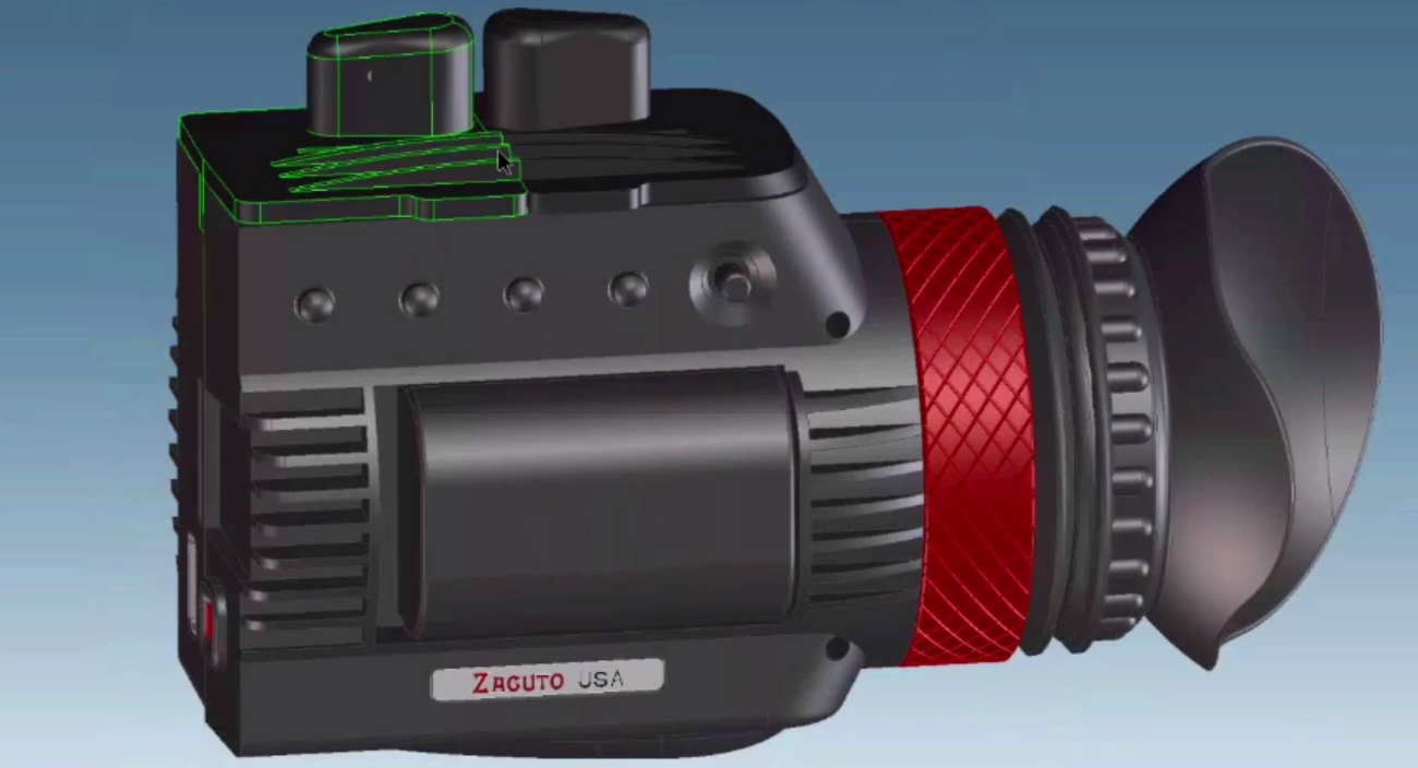 Zacuto Gratical EVF Sneak Peek