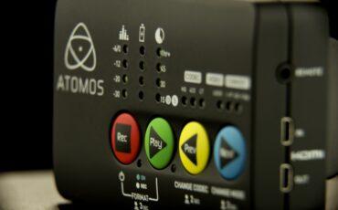 NAB 2014 - Atomos Star. Pocket size recorder & deck