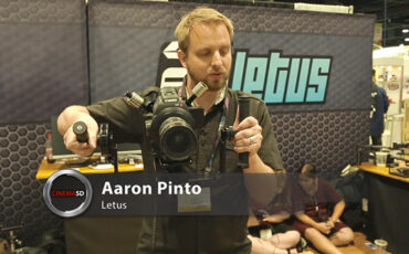 NAB 2014 video - Letus Helix: A new sub $5000 stabilized gimbal with a twist