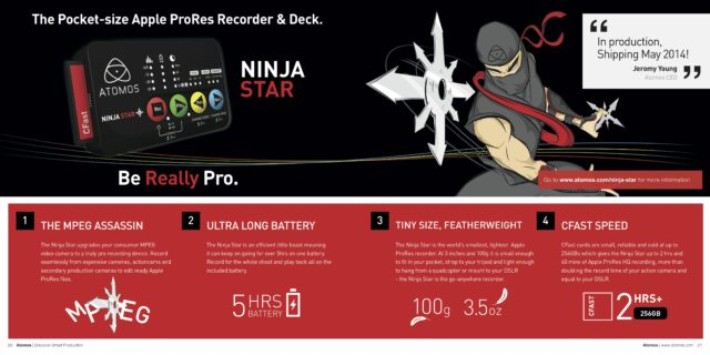 atomos brochure 2014 HR Ninja Star