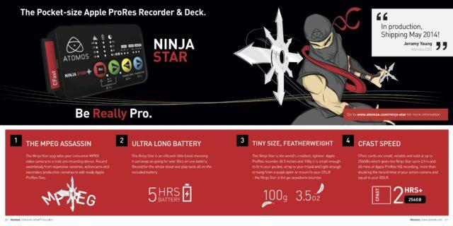 atomos brochure 2014 HR Ninja Star