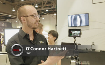 NAB 2014 video - F&V also has an impressive EVF: The Spectra HD4