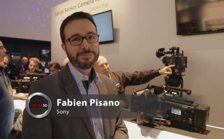 NAB 2014 video - All the details about Sony's F5 & F55 hardware upgrades
