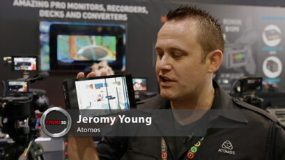 NAB 2014 video - Atomos Shogun gets the 4K out of Sony's A7s