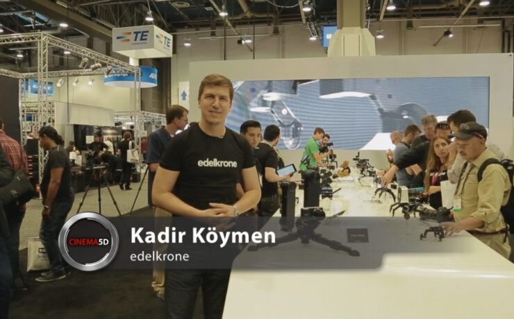 NAB 2014 video - edelkrone's fascinating new products: Wing & Motion Control