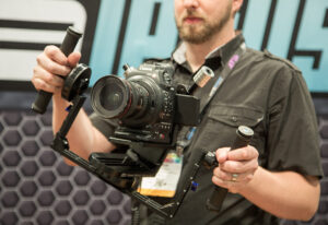 letus 300x206 NAB 2014 video   Letus Helix: A new sub $5000 stabilized gimbal with a twist
