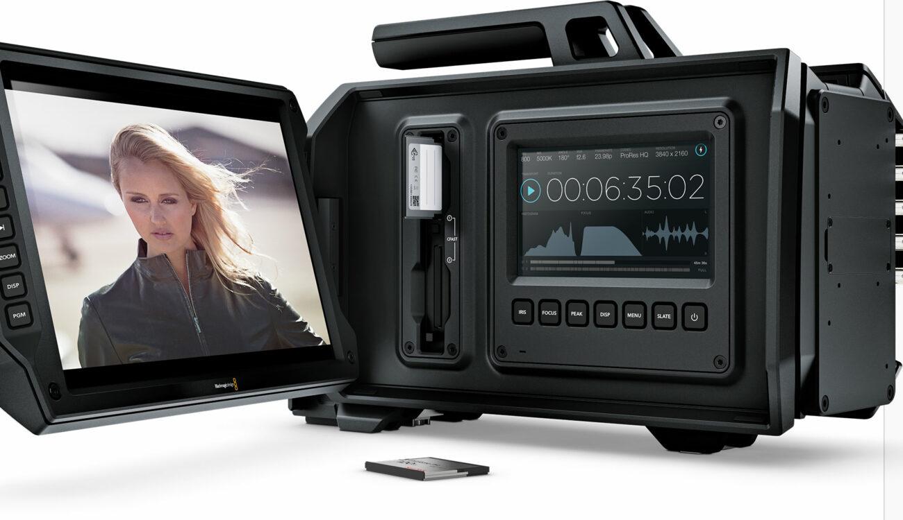NAB 2014 - Blackmagic URSA upgradable 4K digital film camera for $6000