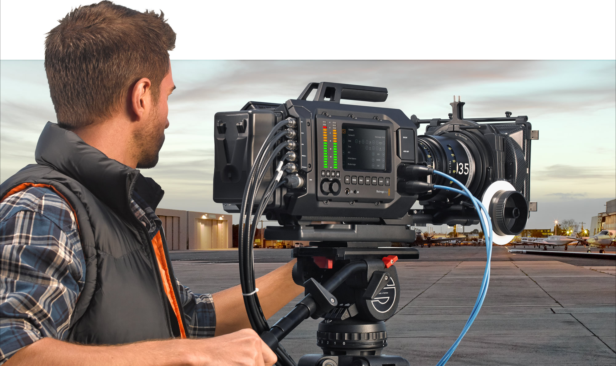 NAB 2014 - Blackmagic URSA upgradable 4K digital film camera for $6000 | cinema5D