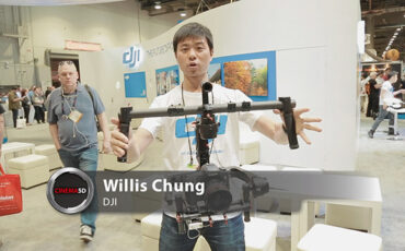 NAB 2014 video - The DJI Ronin is a sub $5000 stabilized gimbal that doesn't look DIY