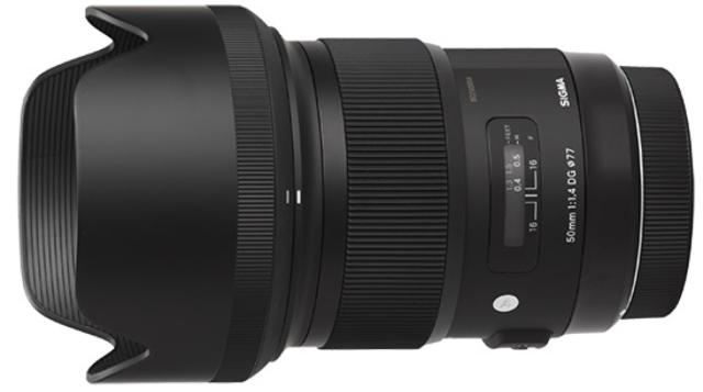 Sigma 50mm f:1.4 DG HSM