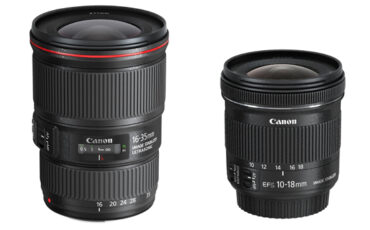 Canon announce two new EF wide angle lenses