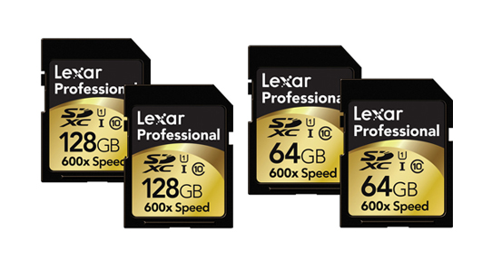 Lexar SD Card Sale - up to 40% off