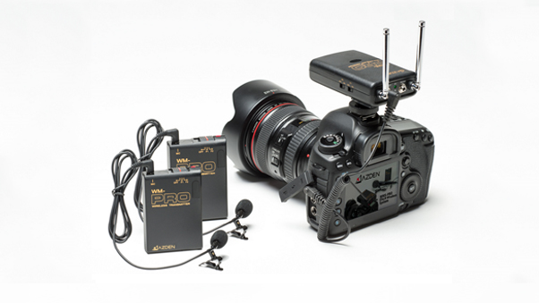 Azden WDL-PRO - Two wireless microphones with on input