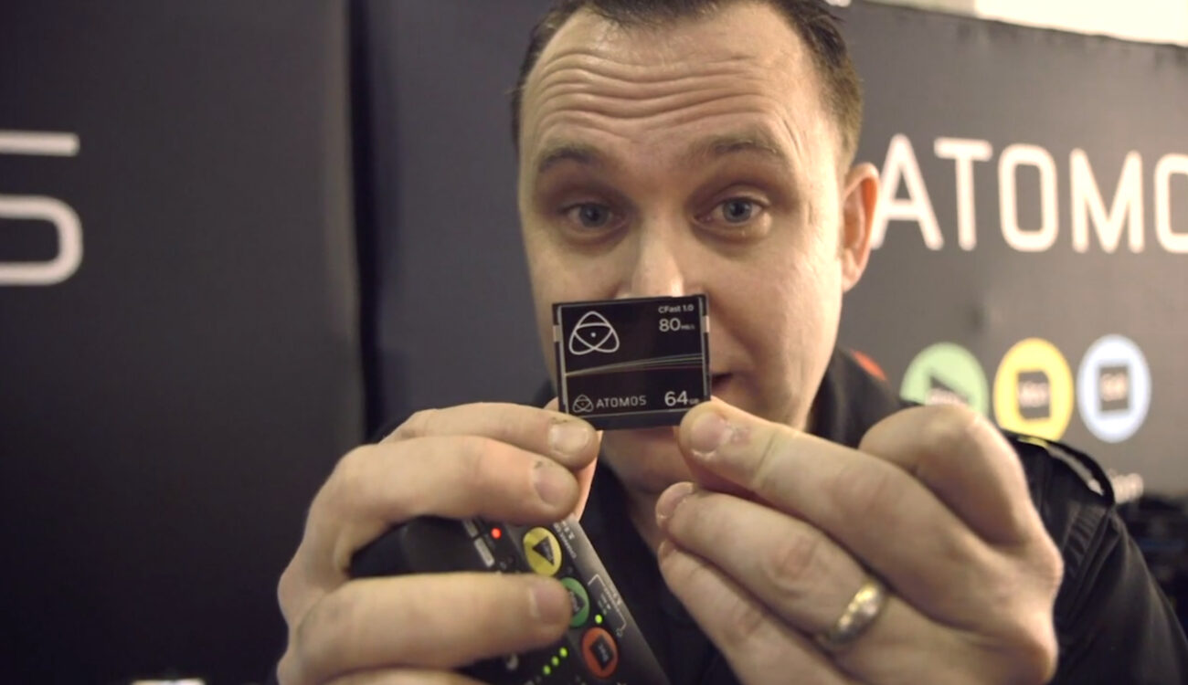 Atomos release CFast cards for Ninja Star, plus coiled HDMI leads