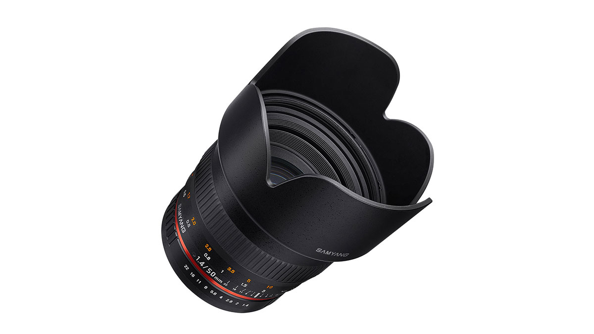 Samyang 50mm T1.5 (f1.4) just announced