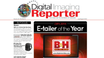 Digital Imaging Reporter Magazine awards B&H as E-Tailer of the year