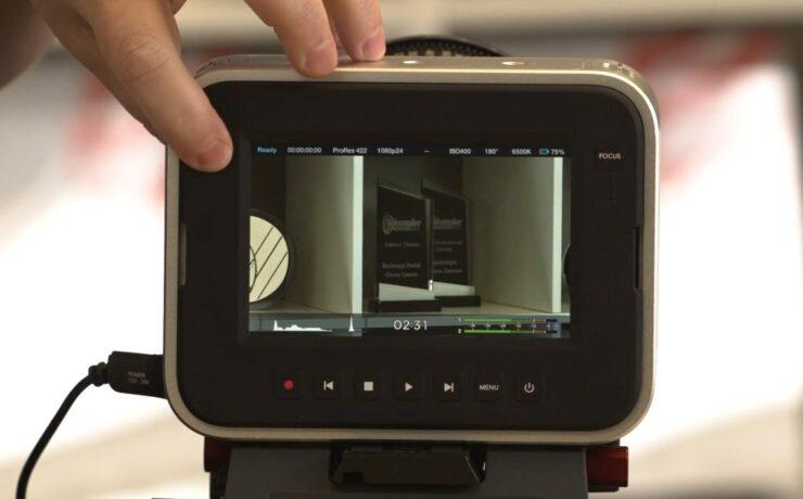 Blackmagic firmware update 1.9 for Pocket & Cinema Cameras - Time Remaining, Audio Levels, Histogram