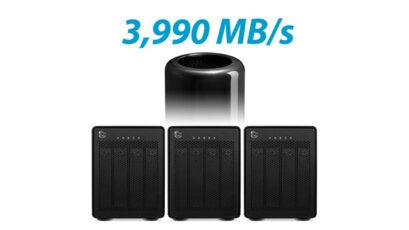 OWC ThunderBay 4 RAID drives: 36TB at 1902 MB/s for under $3K