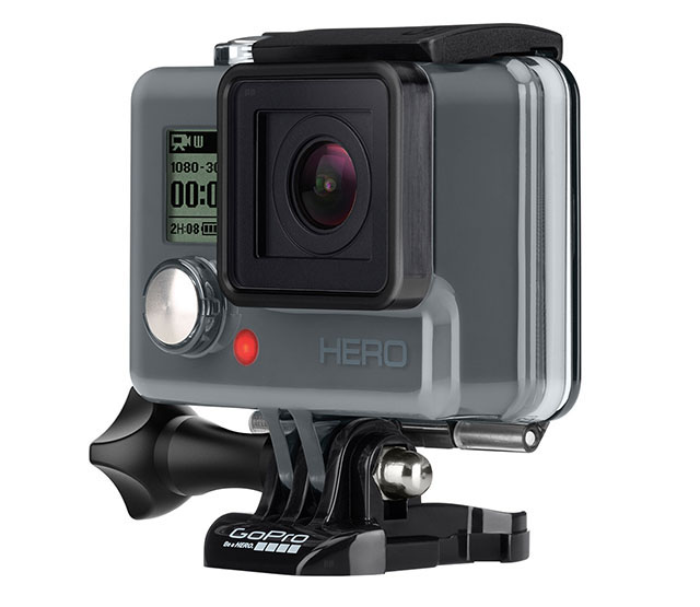 the new GoPro Hero camera. It will reside as the new entrylevel GoPro