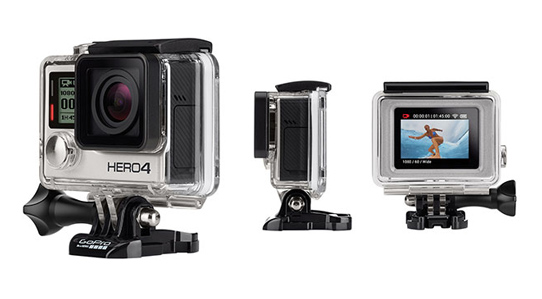 GoPro Hero 4 Revealed, 4K video up to 30p