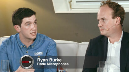 ON THE COUCH – ep 19, part 3 – Ryan Burke (Røde Microphones), Philip Bloom, George Olver (Movidiam)