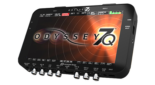 Odyssey 7Q 4K ProRes Recording Firmware Update