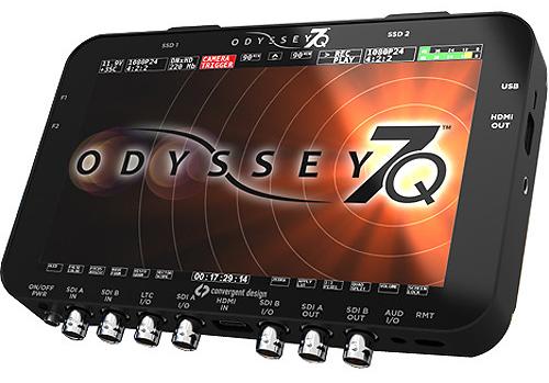 Odyssey 7Q raw recorder